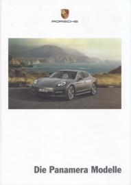 Panamera brochure, 170 pages, 02/2011, hard covers, German