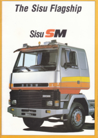 Sisu SM brochure, 12 pages, A4-size, 10/1983, English language