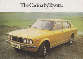 Carina brochure, 6 pages, about 1975, English language, UK