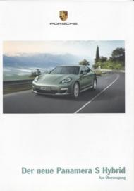 Panamera S Hybrid brochure, 32 pages, 11/2010, German