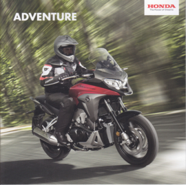 Honda Adventure series brochure, 20 pages, about 2015, Dutch language