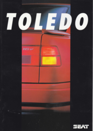 Toledo brochure + separate colors sheet, 24 + 2 pages, Dutch language, 1992