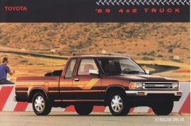 4x2 Pick-up Trucks, US postcard, 1989