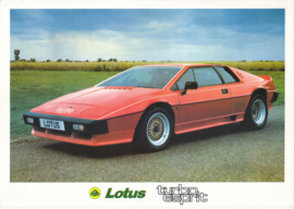 Esprit Turbo, 2 page leaflet, DIN A4-size, factory-issued, 1983, English language