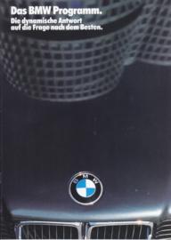 Program 1987 brochure, 16 pages, A4-size, 2/1986, German language