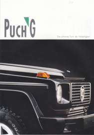 G 4x4 brochure, 6 pages,  German language, about 1980