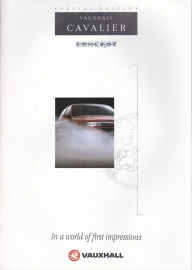 Cavalier  Concept special edition, 6 pages, English language, V10210, 5-1991, UK