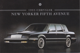 New Yorker Fifth Avenue, US postcard, continental size, 1993