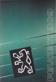 309 brochure, 32 pages, A4-size, 1990, Dutch language