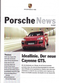 News 04/2007 with Cayenne GTS, 24 pages, 10/07, German language
