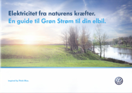 e-Up with green electricity brochure, A4-size, 12 pages, 2013?, Danish language