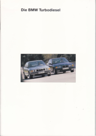 3/5-Series Turbo Diesel brochure, 44 pages, A4-size, 2/1993, German language