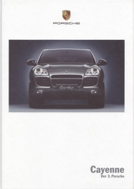 Cayenne brochure, 170 pages, 06/2002, hard covers, German