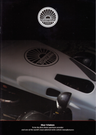 Westfield Sportscar brochure, 8 glossy pages, 01/2009, Dutch language