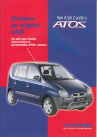 Atoz accessories brochure, 12 pages, 07/1998, Dutch language