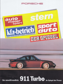 911 Turbo magazine reprint, 12 pages, 1995, German language