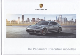 Panamera Executive LWB brochure, 48 pages, 11/2013, hard covers, Dutch