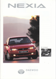 Nexia 3/4/5-door brochure, 24 pages,  3/1996, Dutch language
