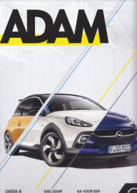 Adam / Adam S / Adam Rocks brochure, 60 large pages, 09/2016, Dutch language
