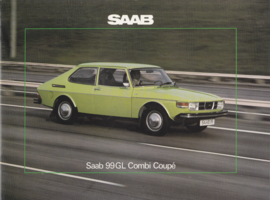 99 GL Combi Coupé brochure, 20 pages, 1976, Dutch language