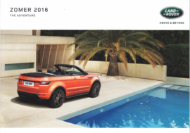 Summer treatment brochure, A5-size, 6 pages, 2016, Dutch language