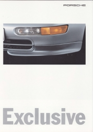 911 Exclusive brochure, 8 pages, 01/95, German