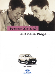 Niva 4x4 brochure, 6 pages, 02/1997, German language (Suisse)