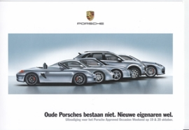 Pre-used approved occasions brochure, 8 pages, 10/2013, Dutch language