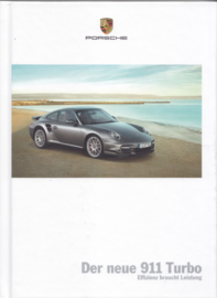 911 Turbo brochure, 114 pages, 05/2009, hard covers, German