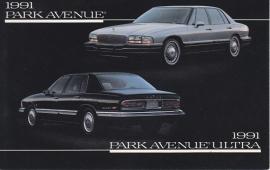 Park Avenue & Park Avenue Ultra, US postcard, standard size, 1991