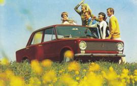 124 Berlina, standard size, Italian postcard, undated, about 1965