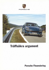 Finance brochure (inside has 911 GT2 RS), 4 pages, 10/2010, Swedish language