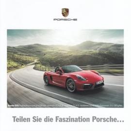 Faszination Porsche,  square, 4 pages, about 2015, PZ Bonn