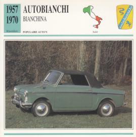 Autobianchi Bianchina Convertible card, Dutch language, D5 019 06-05