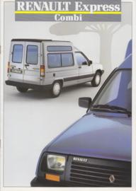 Express Combi brochure, 8 pages, 1988, A4-size, Dutch language