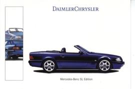 Mercedes-Benz SL Edition Cabriolet, A6-size postcard, Geneva 2000 French