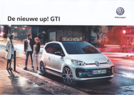 Up! GTI brochure, A4-size, 12 pages, 01/2018, Dutch language