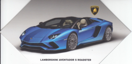Aventador S Roadster, 4 page brochure, English language, 2016