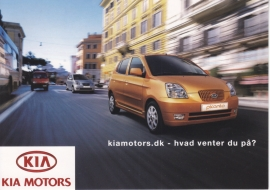 Picanto postcard, rack card by Free-Card Denmark, # 605, 2004
