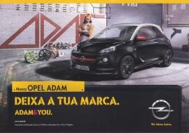 Adam postcard, Postalfree freecard, # 3378, Portuguese language