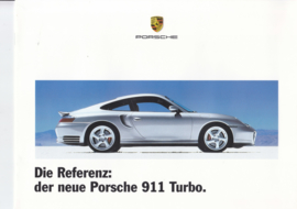 911 Turbo intro brochure, 12 pages, size A4, 2000, German language