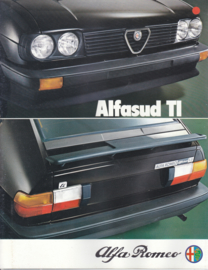 Alfasud Ti brochure, 8 pages, 5/1980,  # 1079/5, German language