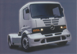 Mercedes-Benz Atego Racetruck 2001, Classic Car(d) of the month 10/2002, Germany