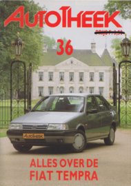 issue # 36, Fiat Tempra, 32 pages, 11/1990, Dutch language