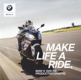 BMW S 1000 RR, sales brochure, 24 pages, UX-VB-1, about 2019, Dutch language