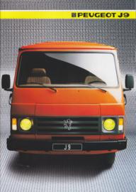 J9 Commercials program brochure, 28 pages, A4-size, 1985, Dutch language