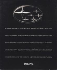 Program USA brochure, 12 pages, English language, 1994