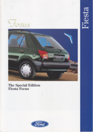 Fiesta Focus brochure, 6 pages, 10/1993, English language, UK