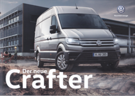 Crafter Van brochure, A4-size, 66 pages, 02/2017, German language