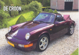 911 Carrera 4 Cabriolet 3.6 postcard,  DIN A6 size, De Croon issue, Dutch language